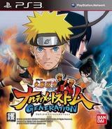 Naruto Shippuden: Narutimate Storm Generation PS3 cover (BLAS50439)