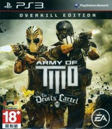 Army of Two: The Devil's Cartel PS3 cover (BLAS50581)