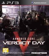 Armored Core: Verdict Day PS3 cover (BLAS50618)