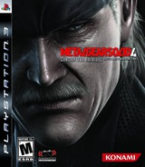 Metal Gear Solid 4: Guns of the Patriots PS3 cover (BLUS30109)