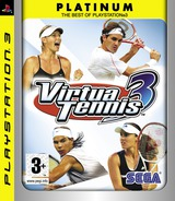Virtua Tennis 3 PS3 cover (BLES00027)