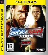 WWE Smackdown vs Raw 2009 PS3 cover (BLES00361)