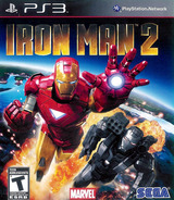 Iron Man 2 PS3 cover (BLUS30514)