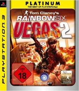 Tom Clancy's Rainbow Six: Vegas 2 PS3 cover (BLES00248)