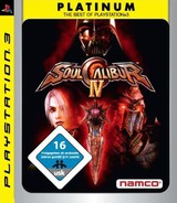 SoulCalibur IV PS3 cover (BLES00296)