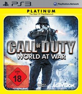 Call of Duty: World at War PS3 cover (BLES00354)