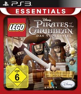 LEGO Pirates of the Caribbean: The Video Game PS3 cover (BLES01241)