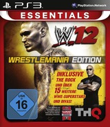 WWE 12 PS3 cover (BLES01439)