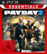 Payday 2 PS3 cover (BLES01902)