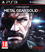 Metal Gear Solid V: Ground Zeroes PS3 cover (BLES01971)
