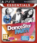 DanceStar Party PS3 cover (BCES01247)