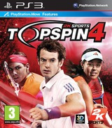 Top Spin 4 PS3 cover (BLES00668)