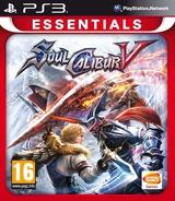 SoulCalibur V PS3 cover (BLES01250)