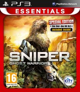 Sniper: Ghost Warrior PS3 cover (BLES01286)