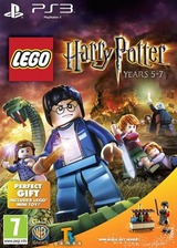 LEGO Harry Potter: Years 5-7 PS3 cover (BLES01348)