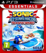 Sonic & All-Stars Racing Transformed PS3 cover (BLES01646)