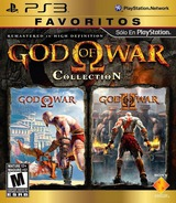 God of War Collection PS3 cover (BCUS98229)