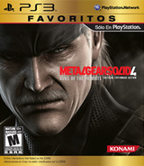 Metal Gear Solid 4: Guns of the Patriots (Limited Edition) PS3 cover (BLUS30148)