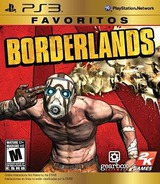 Borderlands PS3 cover (BLUS30386)