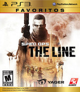 Spec Ops: The Line PS3 cover (BLUS30531)