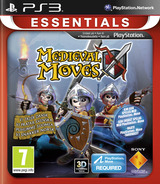 Medieval Moves PS3 cover (BCES01336)