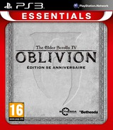 The Elder Scrolls IV: Oblivion pochette PS3 (BLES00048)