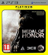 Medal of Honor pochette PS3 (BLES00860)