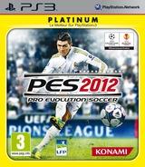 Pro Evolution Soccer 2012 pochette PS3 (BLES01406)