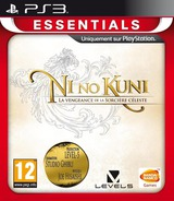 Ni no Kuni: Wrath of the White Witch pochette PS3 (BLES01555)