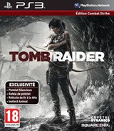 Tomb Raider pochette PS3 (BLES01780)