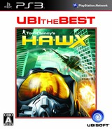 Tom Clancy's H.A.W.X. PS3 cover (BLJM60144)