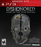 Dishonored PS3 cover (BLUS30501)
