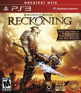 Kingdoms of Amalur: Reckoning PS3 cover (BLUS30710)