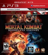 Mortal Kombat Komplete Edition PS3 cover (BLUS30902)