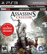 Assassin's Creed III PS3 cover (BLUS30991)