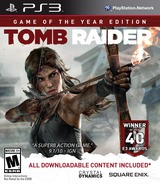 Tomb Raider PS3 cover (BLUS31036)
