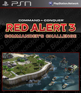 Command & Conquer: Red Alert 3: Commander's Challenge SEN cover (NPEB00124)