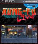 Kung-Fu Live SEN cover (NPEB00335)
