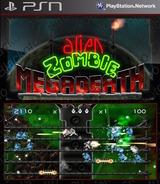Alien Zombie Megadeath SEN cover (NPEB00540)