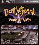 DeathSpank: Thongs of Virtue SEN cover (NPHB00277)