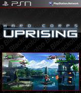 Hard Corps: Uprising SEN cover (NPJB00081)