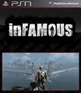 inFamous SEN cover (NPUA80480)