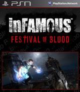 inFamous 2: Festival of Blood SEN cover (NPUA80657)