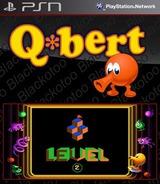 Q*bert SEN cover (NPUB30010)