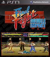 Final Fight: Double Impact SEN cover (NPUB30087)