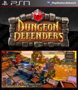 Dungeon Defenders SEN cover (NPUB30251)
