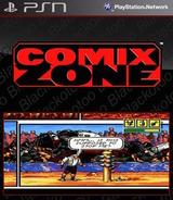 SEGA Vintage Collection: Comix Zone SEN cover (NPUB30460)