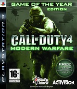 Call of Duty 4: Modern Warfare PS3 cover (BLES00148)