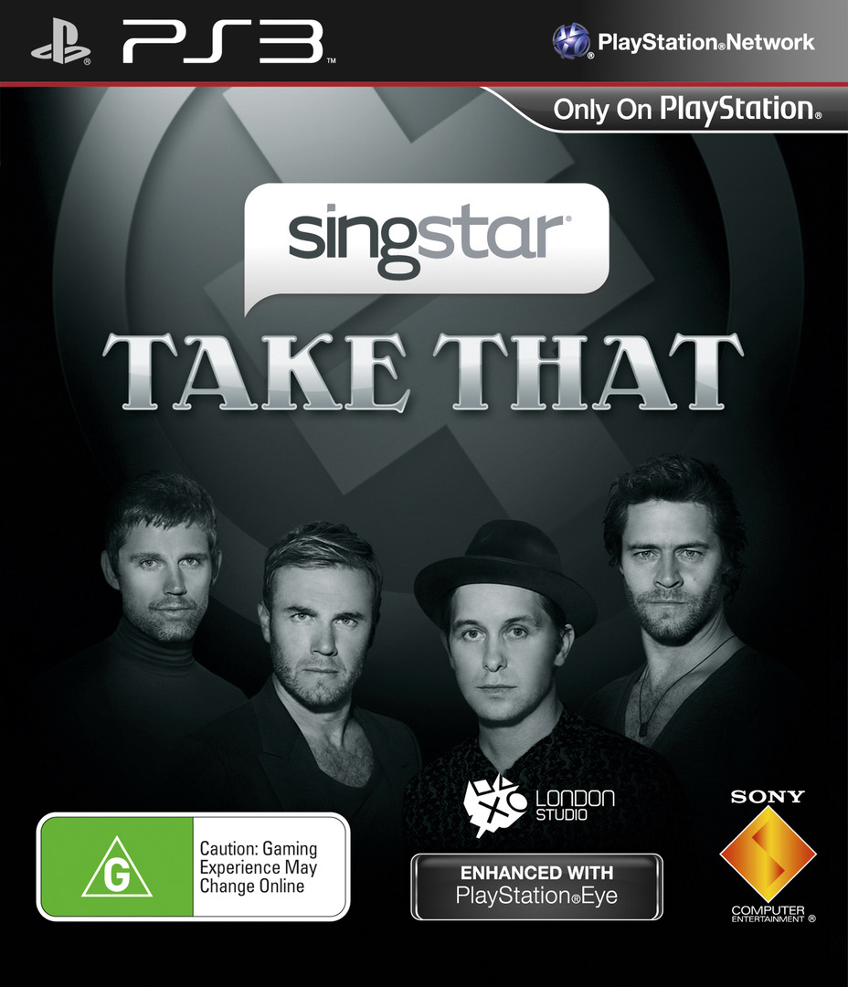 SingStar: Take That PS3 coverHQ (BCES00607)