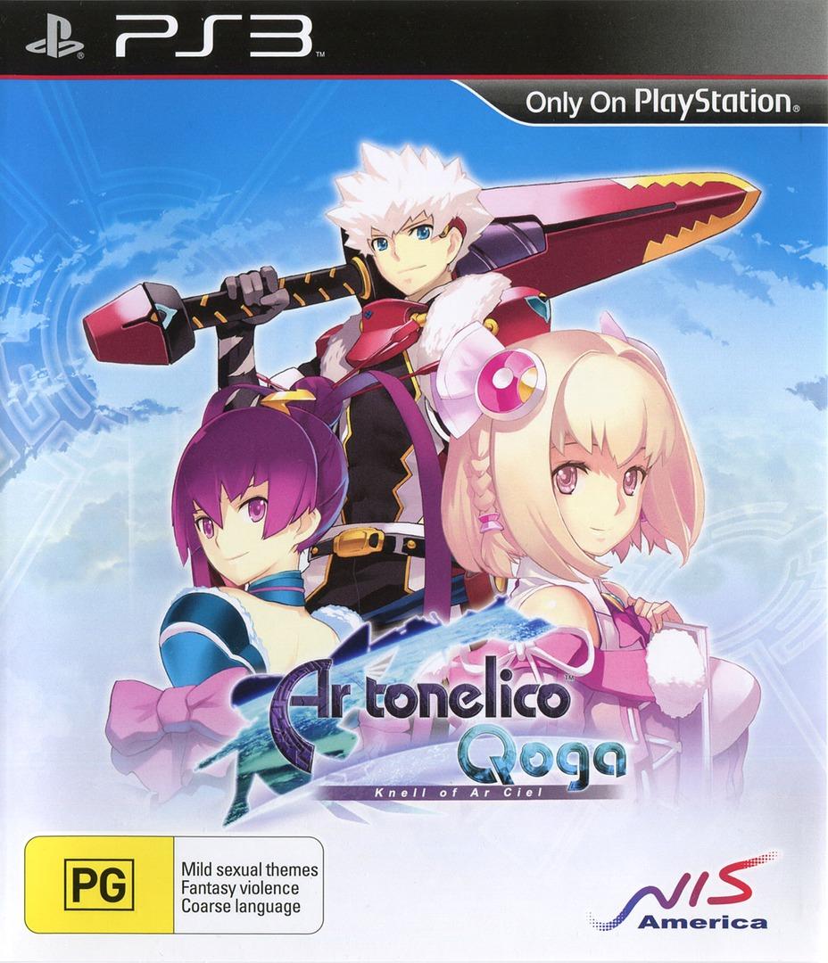Ar Tonelico Qoga: Knell of Ar Ciel PS3 coverHQ (BLES01102)